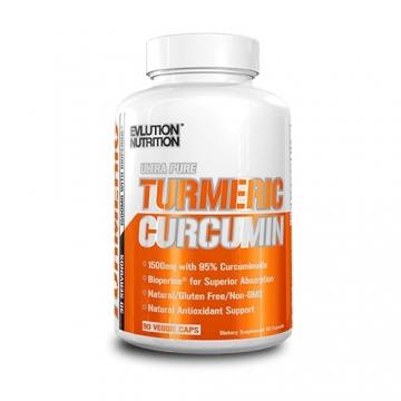 Evl Nutrition Turmeric Curcumin (90 Caps)