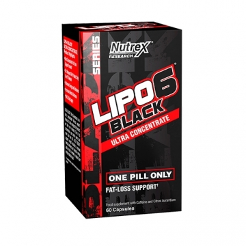 Nutrex Research Lipo 6 Black Ultra Concentrate (60 Caps)