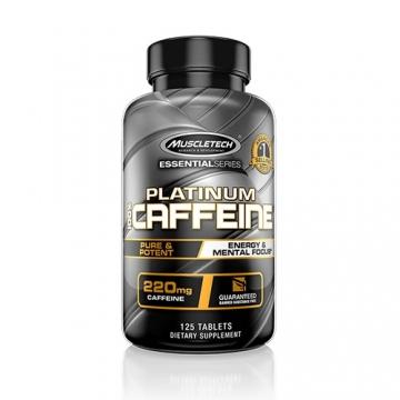 Muscletech Essential Series Platinum 100% Caffeine (125 Tabs)