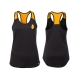 Grenade Sportswear Womens Tank (Black/Orange)