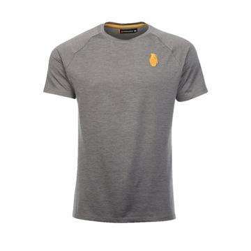 Grenade Sportswear Poly T-Shirt (Dark Grey)