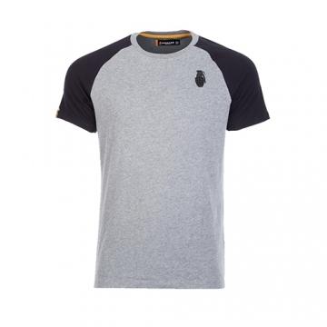 Grenade Sportswear Raglan Sleeve T-Shirt (Charcoal/Marl)