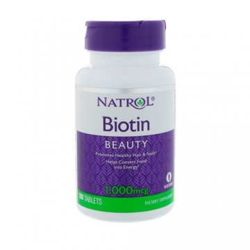 Natrol Biotin 1000mcg (100) (damaged)
