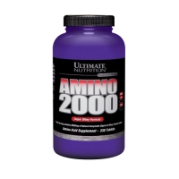 Ultimate Nutrition Super Whey Amino 2000 (330Tabs) (damaged)
