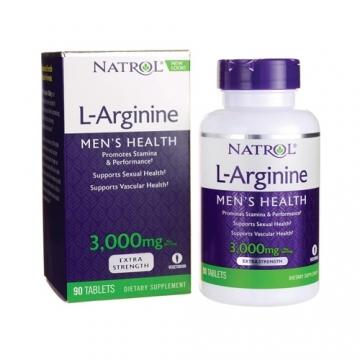 Natrol L-Arginine 3000mg (90 Tabs)