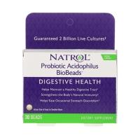 Natrol Probiotic Acidophilus BioBeads (30)
