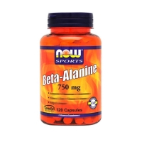 Now Foods Beta Alanine 750mg (120)