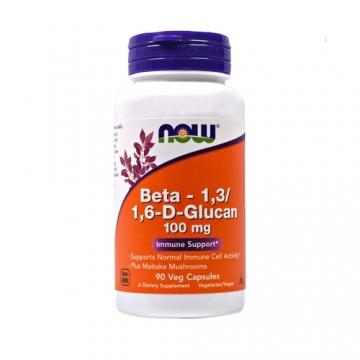 Now Foods Beta 1,3/1,6- D -Glucan 100 mg (90)