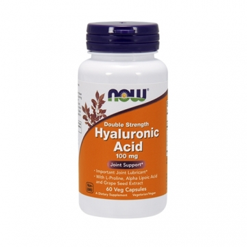 Now Foods Hyaluronic Acid 100mg Double Strength (60)