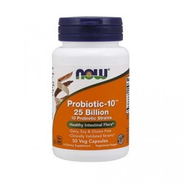 Now Foods Probiotic-10™ 25 Billion (50)