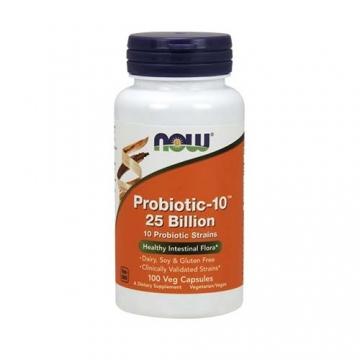 Now Foods Probiotic-10™ 25 Billion (100)