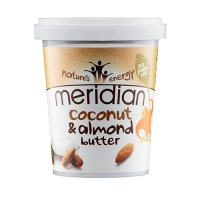 Meridian Foods Coconut Butter Almond (6x454g)
