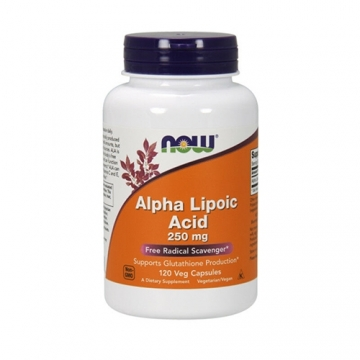 Now Foods Alpha Lipoic Acid 250mg (120)
