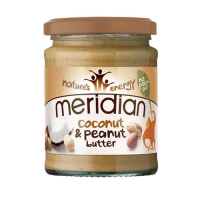 Meridian Foods Coconut & Peanut Butter (6x280g)