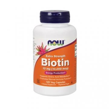Now Foods Biotin 10000µg Extra Strength (120)