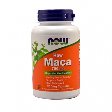 Now Foods Maca 750 mg Raw (90)