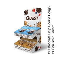 Quest Nutrition Quest Starter Kit (8 Boxes + Free Display)