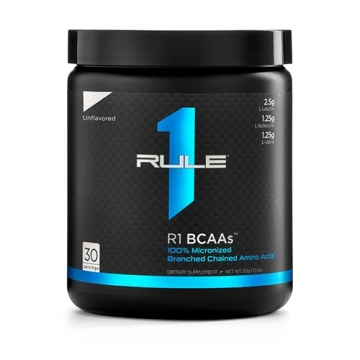 Rule1 R1 BCAA - Unflavored (30serv)