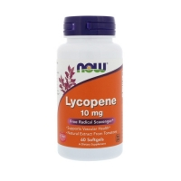 Now Foods Lycopene 10mg (60) (50% OFF - short exp. date)