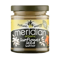 Meridian Foods Organic Sunflower Seed Butter (6x170g) (25% OFF - short exp. date)