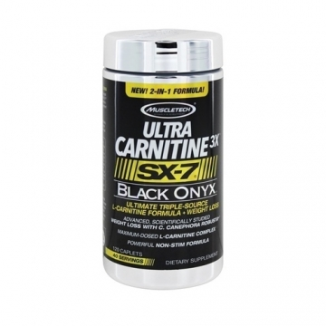 Muscletech SX-7 Black Onyx Ultra Carnitine 3X (120)