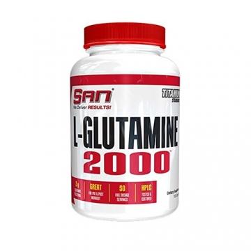 San L-Glutamine 2000 (100 Caps)