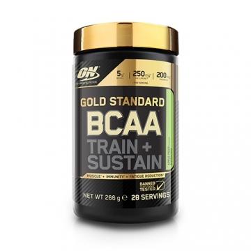 Optimum Nutrition Gold Standard BCAA Train + Sustain (266g)