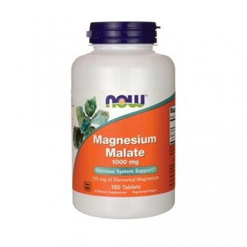 Now Foods Magnesium Malate 1000mg (180 tabs)