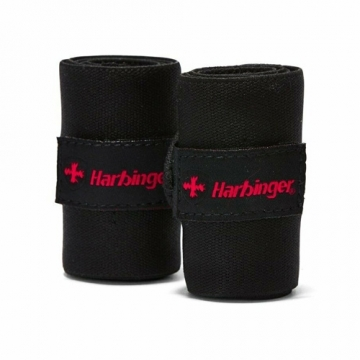 Harbinger Pro Thumb Loop Wrist Wraps (Black)