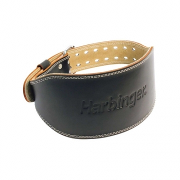 Harbinger 6 Inch Padded Leather Belt