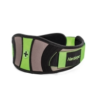 Harbinger Women's Contoured Flexfit Belt (Black/Green)