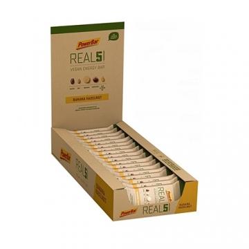 Powerbar Real 5 Vegan Energy Bar (18x65g)