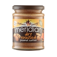 Meridian Foods Dry Roasted Peanut Butter (6x280g) (25% OFF - short exp. date)
