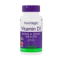 Natrol Vitamin D3 Fast Dissolve 2000IU (90) (50% OFF - short exp. date)