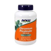Now Foods Chromium Picolinate 200mcg (250 Caps)