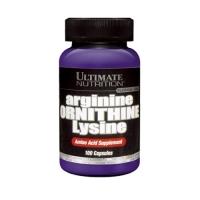 Ultimate Nutrition Arginine/Ornithine/Lysine (100Caps) (50% OFF - short exp. date)