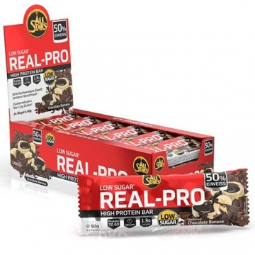 All Stars Real-Pro High Protein Bar (24x50g)