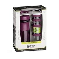Blender Bottle Combo Pak Sportmixer Go Stack (28oz Shaker + Go Stack Starter 4 Pak)