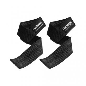 Harbinger Big Grip Lifting Straps (Black)