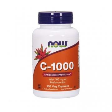 Now Foods Vitamin C-1000 (100 Caps)