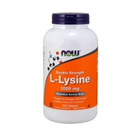 Now Foods L-Lysine 1000mg (250 Tabs)