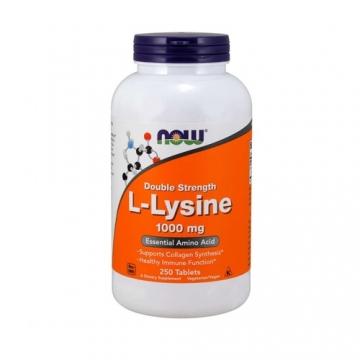 Now Foods L-Lysine 1000mg (250 Tabs)