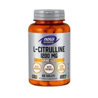 Now Foods L-Citrulline 1200mg (120) (25% OFF - short exp. date)