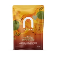 Naturya Superfoods Organic Turmeric SuperBlend Powder (250g)