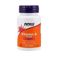 Now Foods Vitamin A 10.000 IU (100 Softgels)