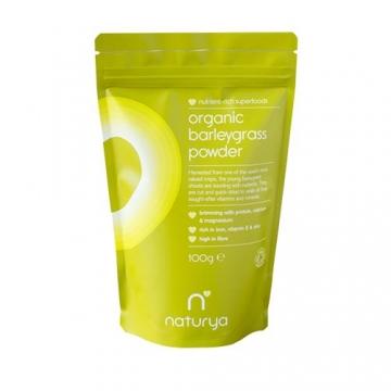 Naturya Superfoods Organic Barleygrass Powder (100g) (50% OFF - short exp. date)