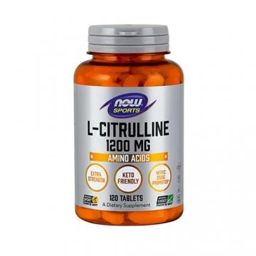Now Foods L-Citrulline 1200mg (120) (50% OFF - short exp. date)