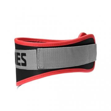 Better Bodies Basic Gym Belt (Black/Red)