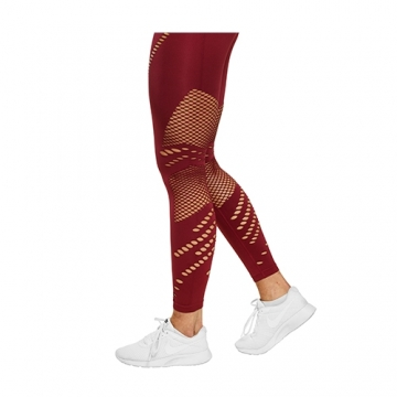 Better Bodies Waverly Tights (Sangria Red)