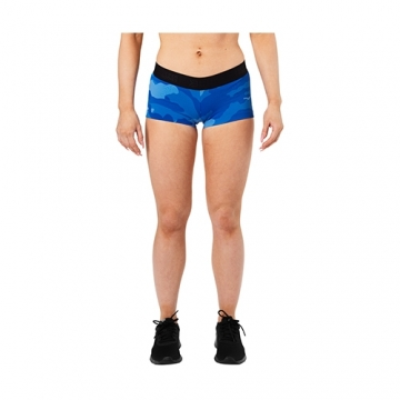 Better Bodies Fitness Hotpant (Blue Camo)